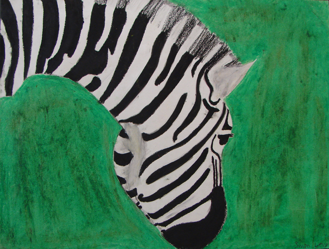 Zebra by Sivan Levy